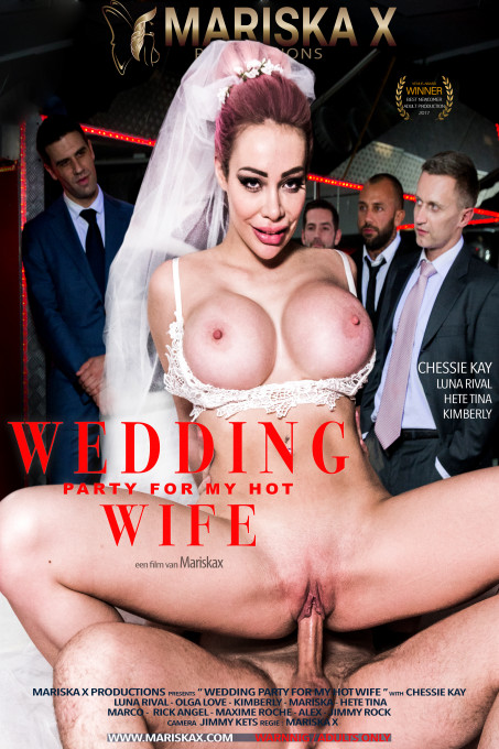 Wedding Party for my hot wife