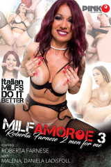 Milf Amore #3 - Roberta Farnese 2 Men For Me